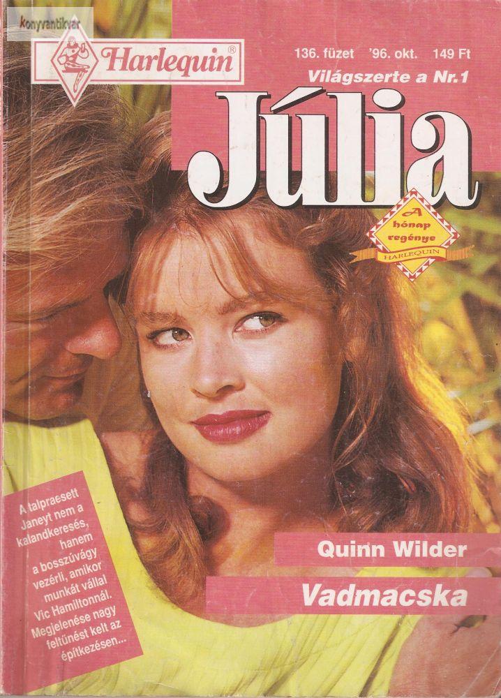 Quinn Wilder: Vadmacska