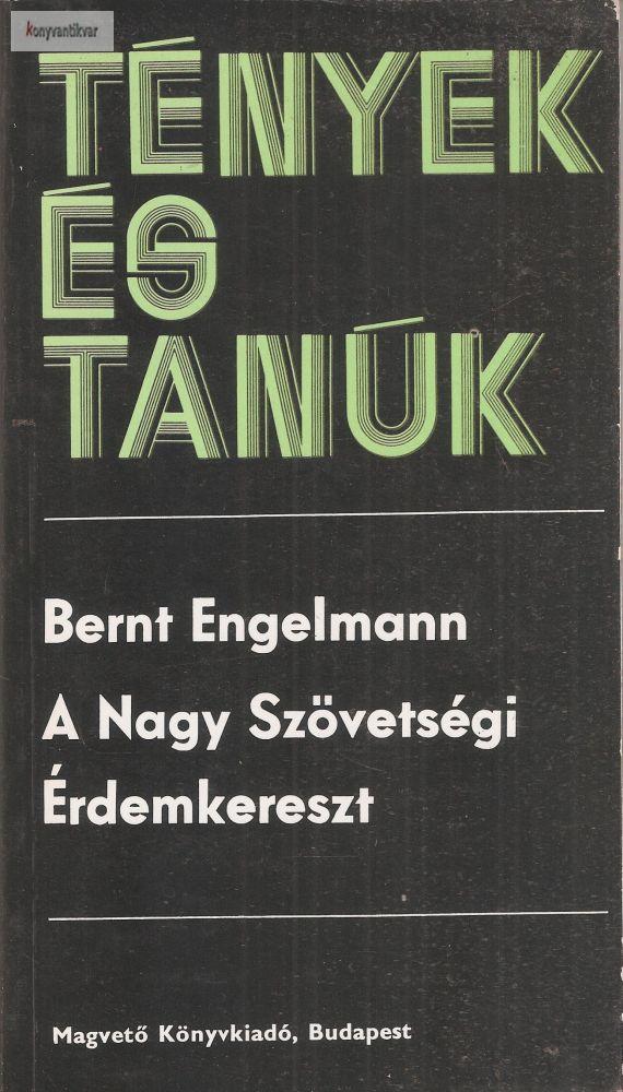 Bernt Engelmann: A nagy szövetségi érdemkereszt