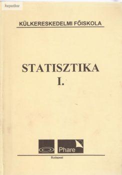 Fenyves Ferenc: Statisztika I.