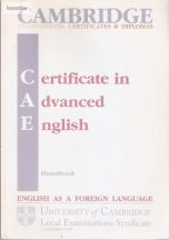 Cambridge CAE handbook