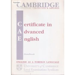 Cambridge CAE handbook