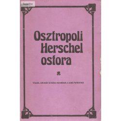Osztropoli Herschel ostora  (viccek, adomák, bölcs mondások a zsidó folklórból)