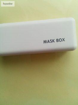 Maszk box fehér