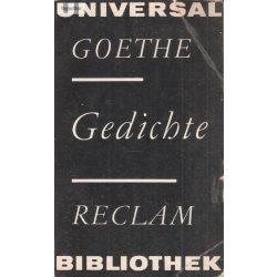 Universal Goethe Gedichte Reclam Bibliothek