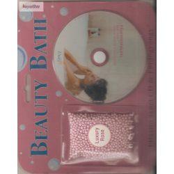 Ellazító zenei CD + fürdőgyöngy rózsaszín