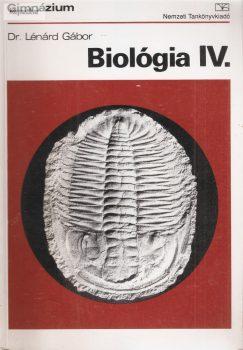 Dr Lénárd Gábor: Biológia IV.
