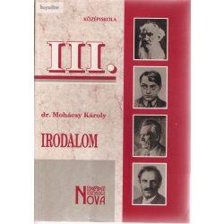 Dr. Mohácsi Károly: Irodalom III. Középiskola