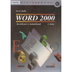 Gerő Judit: Word 2000 kezdőknek és haladóknak I. kötet