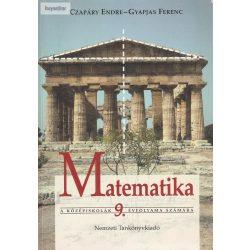 Czapáry Endre - Gyapjas Ferenc: Matematika 9.