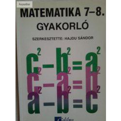 Hajdu Sándor: Matematika gyakorló 7-8