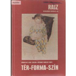 Környeiné Gere Zsuzsa - Reegnné Kuntler Teréz: Tér, forma szín  Rajz általános iskola 5-8.