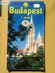 Budapest térkép 1:28 000