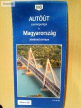 MO autóút csomópontjai és Magyarország áttekintő térképe