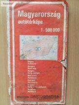 Magyarország autóstérképe 1:500 000