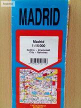 Madrid térkép