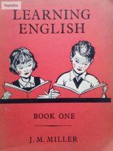 J. M. Miller: Learning English