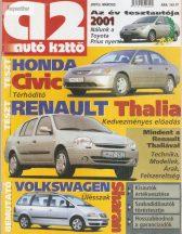 a2 Autó k2ttő 2001. március