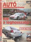 Autó modell sport 2003. július