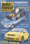Autó-motor 19. szám 2001.szept.19