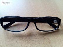 Olvasó szemüveg fekete 2 dioptriás