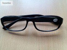 Olvasó szemüveg fekete, 3 dioptriás