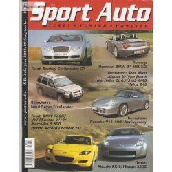 Sport Auto teszt tuning 2003. szeptember