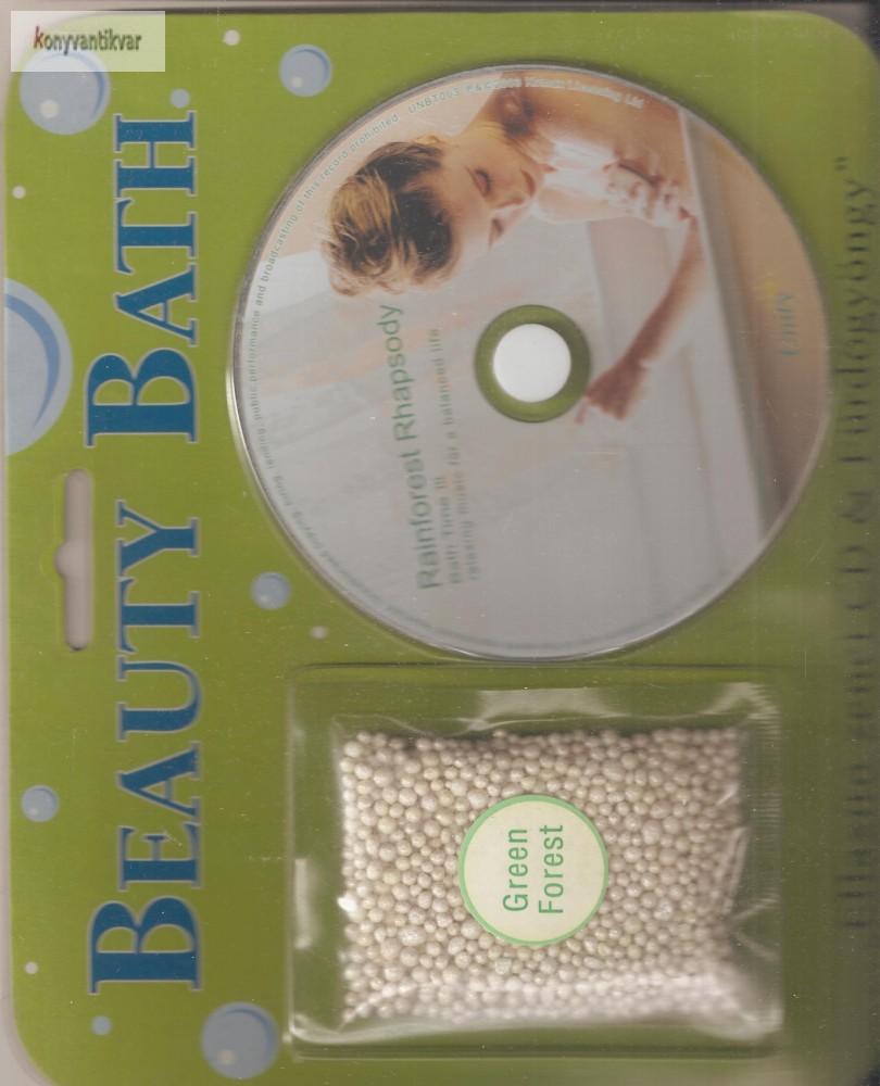Ellazító zenei CD + fürdőgyöngy zöld