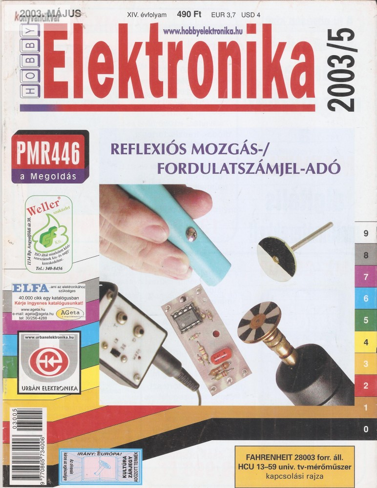 Elektronika 2003. május