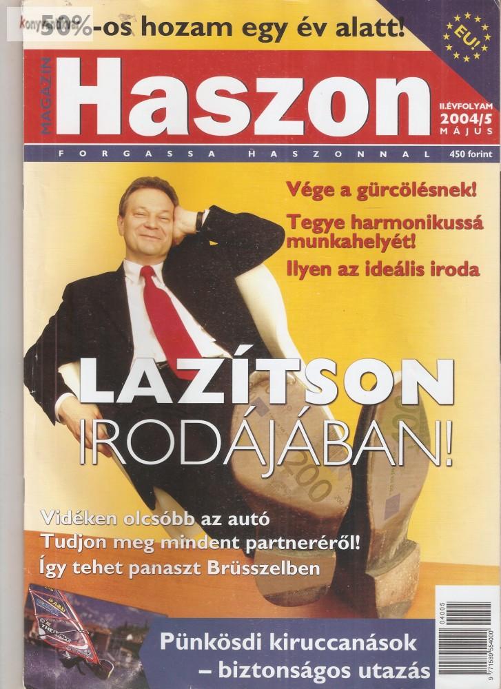 Haszon magazin 2004. 05