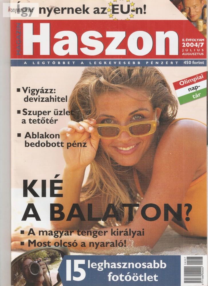 Haszon magazin 2004. 07