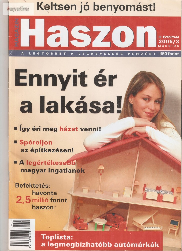 Haszon magazin 2005. 03