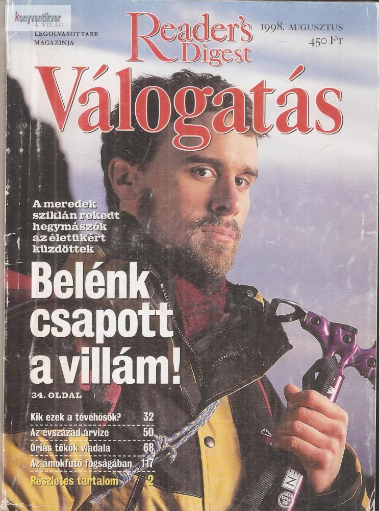 Reader's Digest Válogatás 1998. augusztus